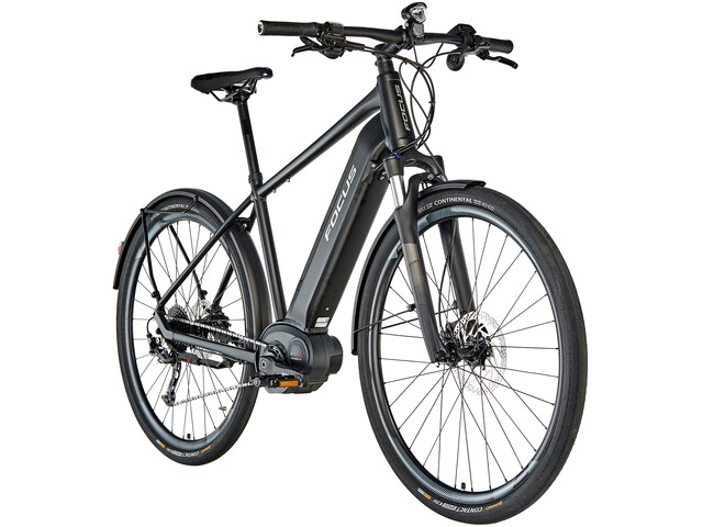 FOCUS Planet² 6.7 E-citybike sort (2019) | City-cykler
